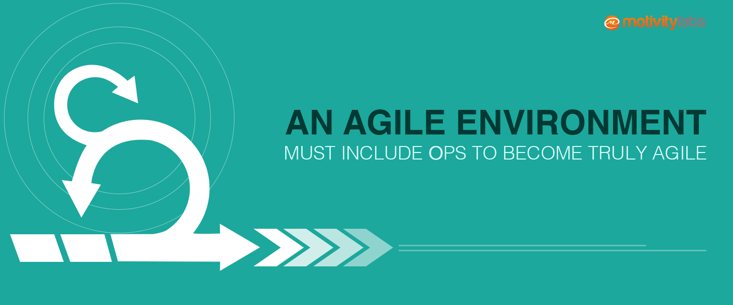 An Agile Environment Must Include Ops to become Truly Agile
