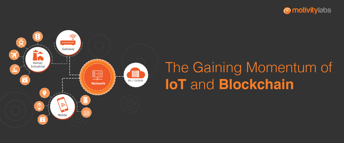 The gaining momentum of IoT and blockchain